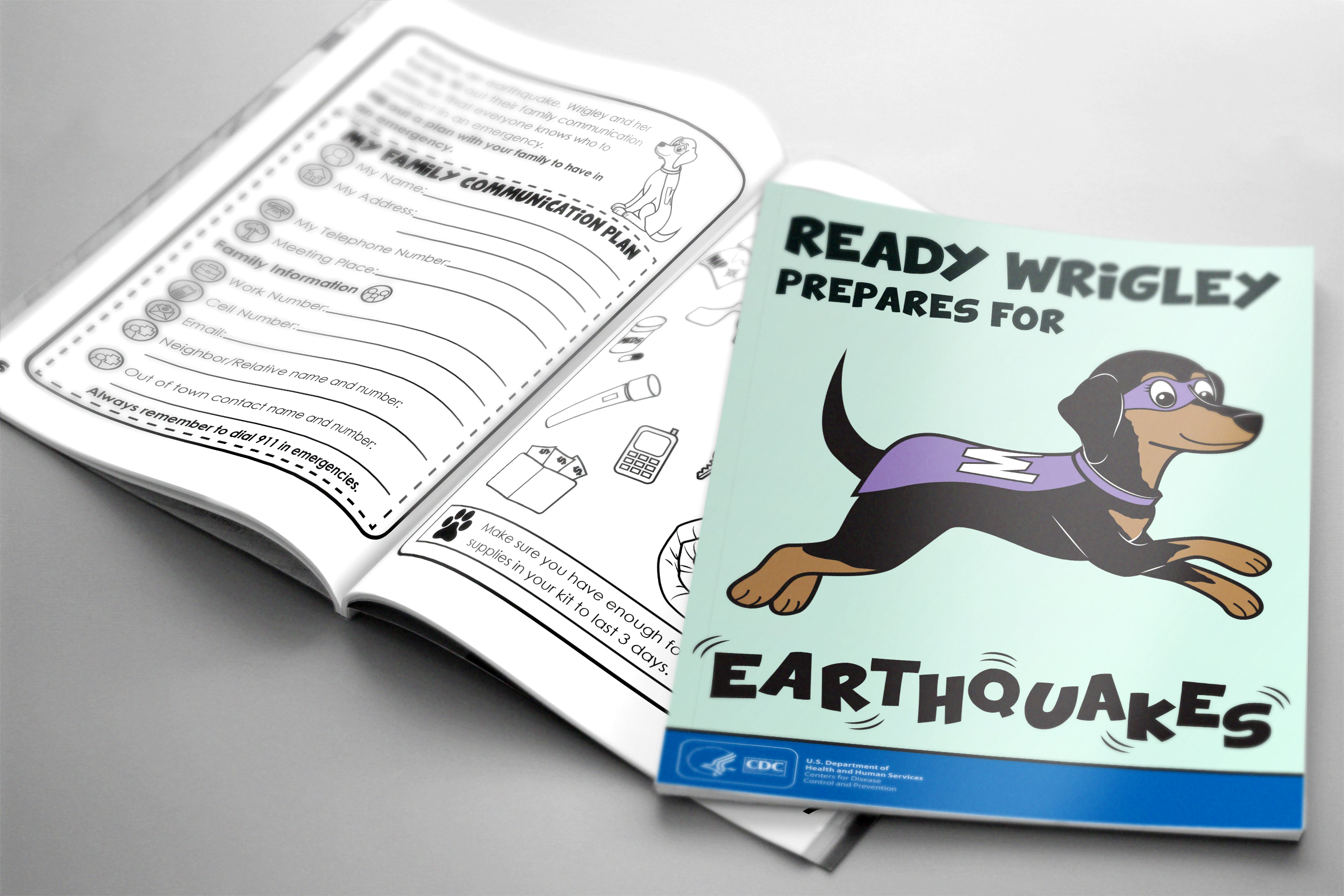 Ready Wrigley Prepares for Earthquakes